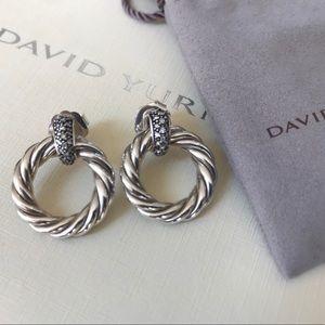 🌸 David Yurman Diamond Earrings 🌸